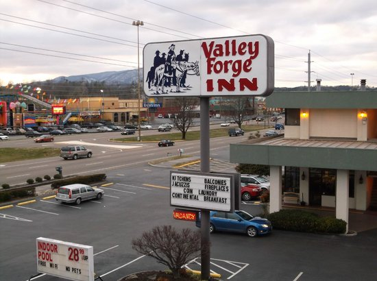 Valley Forge Inn:                   My favorite place to stay in Pigeon Forge!!!