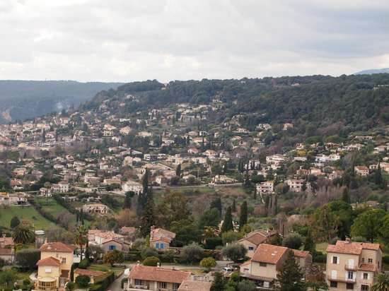 Med Tour :                   View From St Paul in Provence