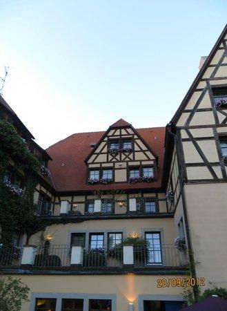 Prinzhotel Rothenburg:                                     Prinzhôtel à Rothenburg Alllemagne