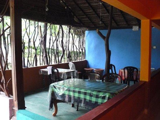 Sigiri Lion Lodge:                   le coins des repas