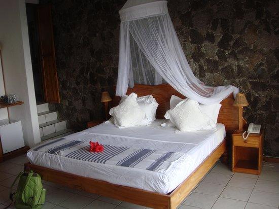 Le Sans Souci Guesthouse:                   notre chambre