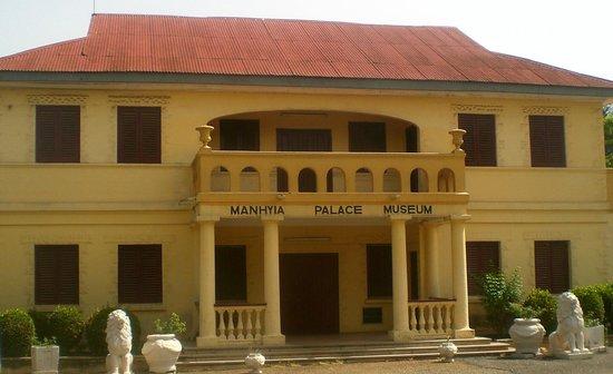 Asante Buildings:                   Manhyia Palace Museum