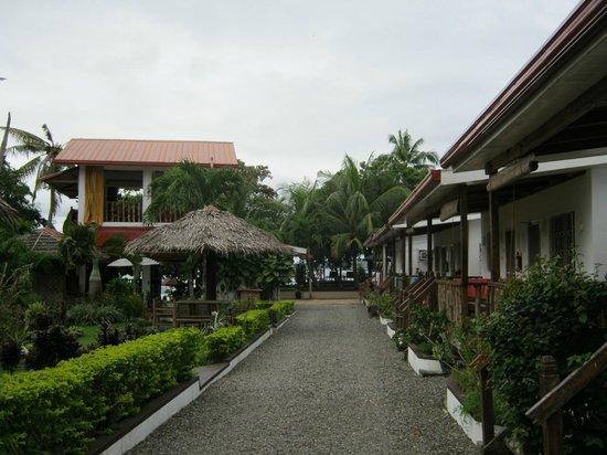 Isla Hayahay:                   l'hotel