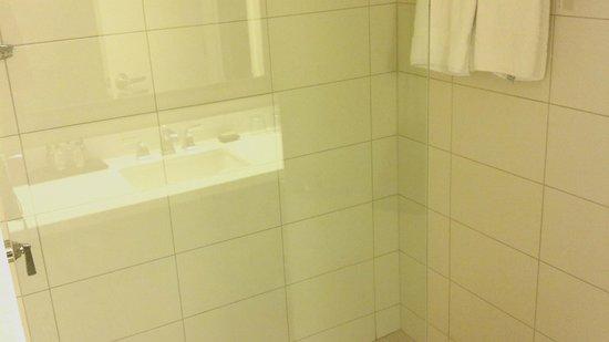 Minneapolis Marriott Northwest:                   Walk in shower (no tub)