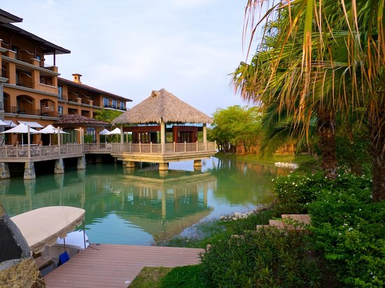 JW Marriott Panama Golf & Beach Resort:                   The lagoon