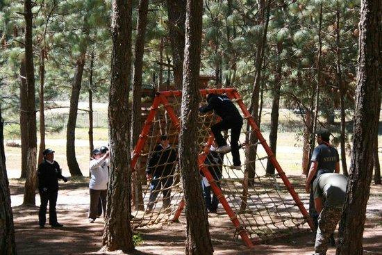 Sierra Vista Cabanas Mazamitla :                   Pista comando