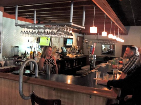 Zaharias:                   Bar is a lively place
