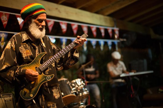 great band - Picture of One Love Reggae Concert Series, Negril ...