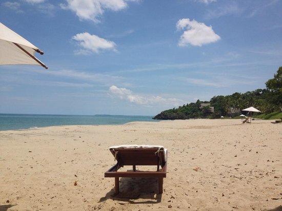 Anjajavy L'Hotel:                   пляж