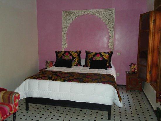 Riad Eleganza Fes:                   Notre chambre