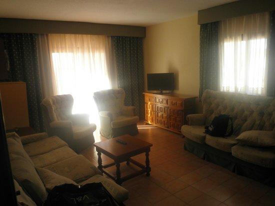 AR Galetamar:                   Interior del apartamento