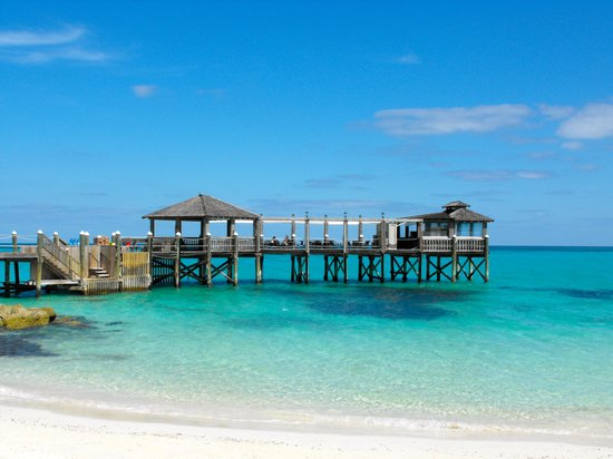 Sandals Royal Bahamian Spa Resort & Offshore Island:                   il pontile