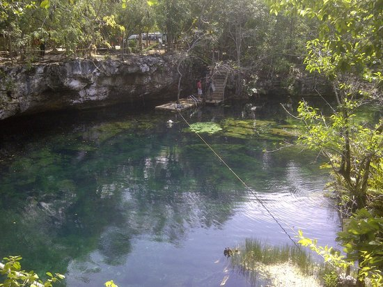 Cenote Ponderosa:                   A beautiful spot!