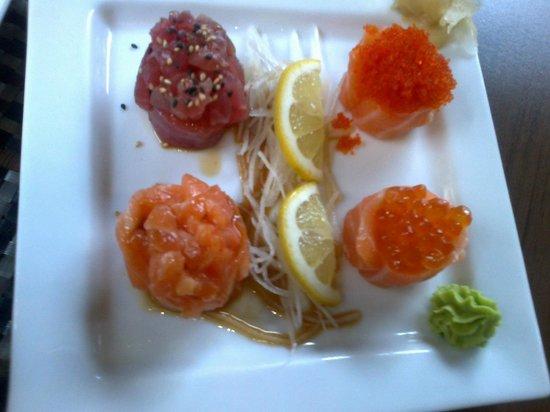 Sushi Mania: Tonno e salmone