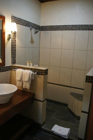 San Ignacio Resort Hotel:                   bathroom