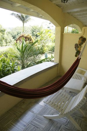 San Ignacio Resort Hotel:                   porch