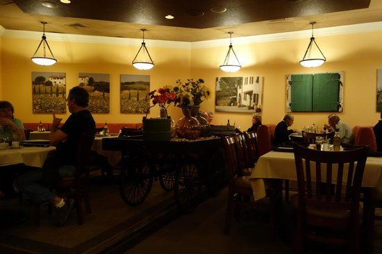 Casa Mia Trattoria Pizzeria:                   The Main Dining Room