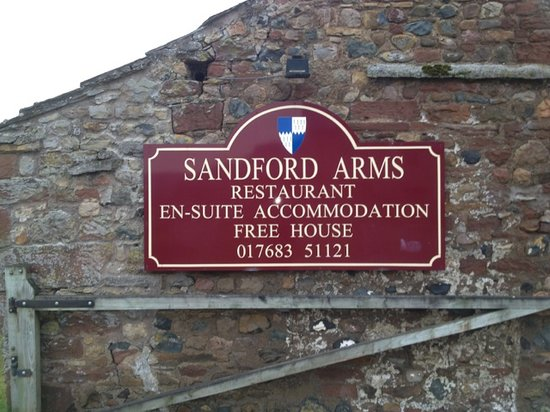 The Sandford Arms Sign