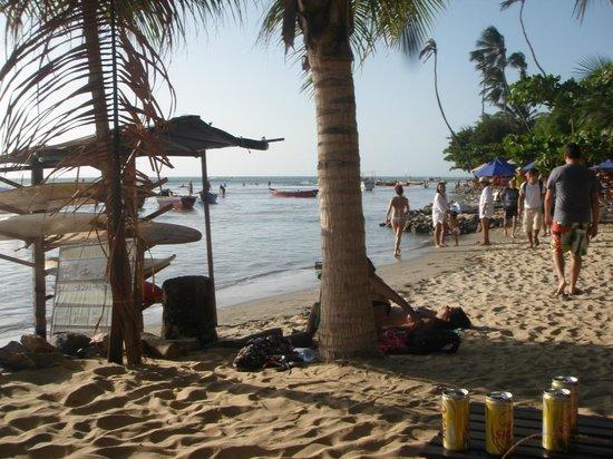 Jericoacoara Beach :                   A praia em final de tarde!