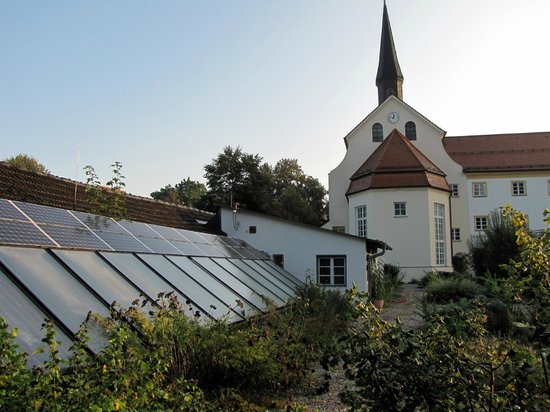 Kapuzinerhof:                                     Greenhouse behind hotel