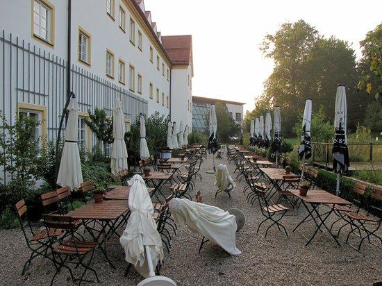 Kapuzinerhof:                                     Garden Dinning Area