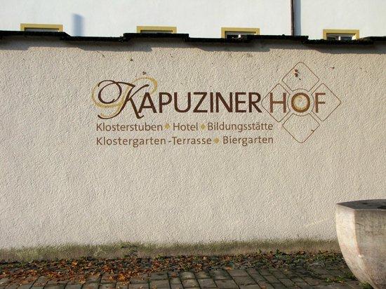 Kapuzinerhof:                                     Old front wall of Monestary