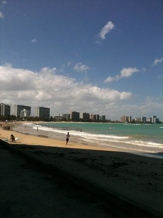 El San Juan Resort & Casino, A Hilton Hotel:                   beach