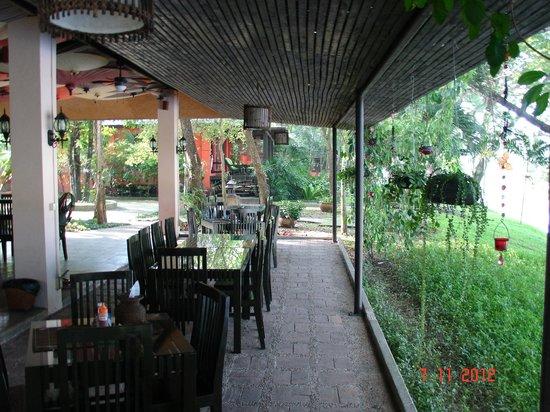 Baannamping Riverside Village:                   Restaurant