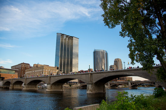 Grand Rapids during ArtPrize