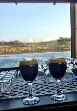 Donegal Town, Irlanda: Irish Coffees on Donegal Bay - Delicious