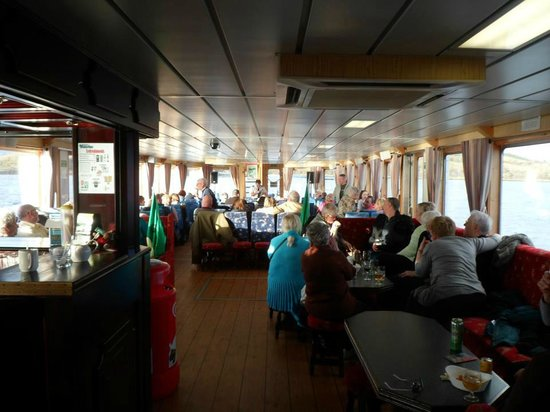 Donegal Bay Waterbus: Spacious interior