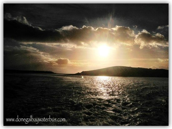 Donegal Bay Waterbus: Sunset on Donegal Bay
