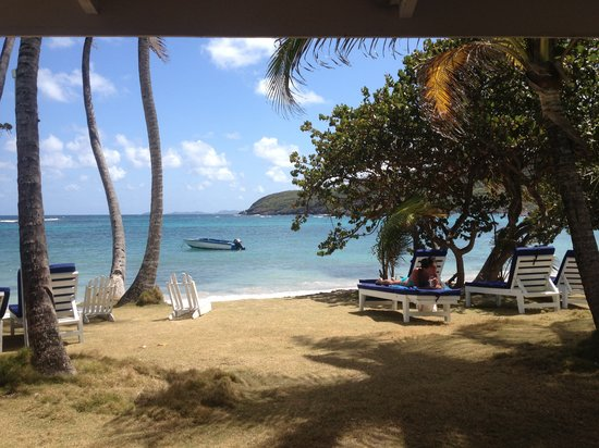 Sugar Reef Cafe: View from our table