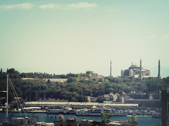 Galata Suite Home: view from the rooftop terrace