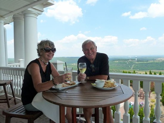 John Daly's Murder Rock Golf Club: Lunch after the round