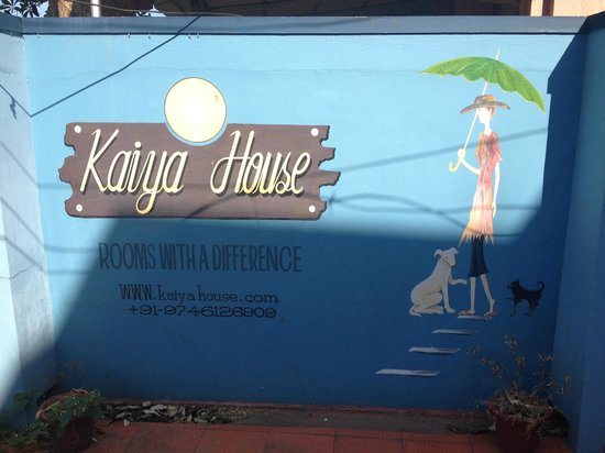 Kaiya House:                   Out front