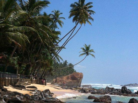 Sri Gemunu Beach Resort:                   Strand Nordseite