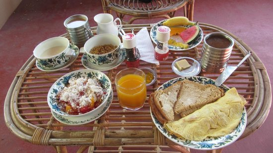 Kaiya House:                   One of the breakfasts