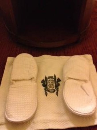 The Brown Palace Hotel and Spa, Autograph Collection:                   Slippers