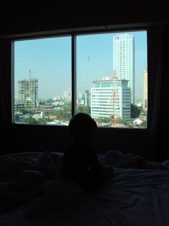 Hotel Santika Premiere Slipi: room with a view