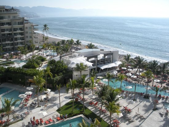 Now Amber Puerto Vallarta:                   View from 1770