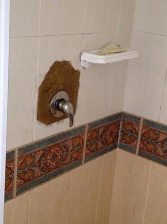 Al Villa Romantica:                   poor repair work