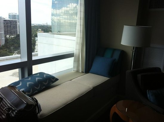 Four Seasons Hotel Miami:                   Nice in-room resting place