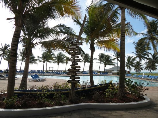 Coconut Bay Beach Resort & Spa:                   View of pool from lobby