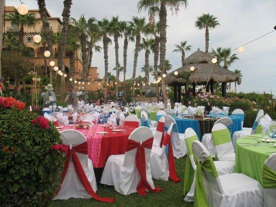 Hacienda del Mar Los Cabos :                                     il avait préparer un banquet