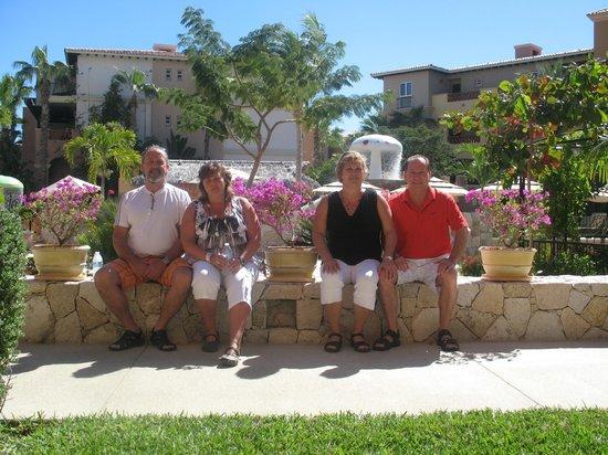 Hacienda del Mar Los Cabos :                                     voici la vue de notre appartement