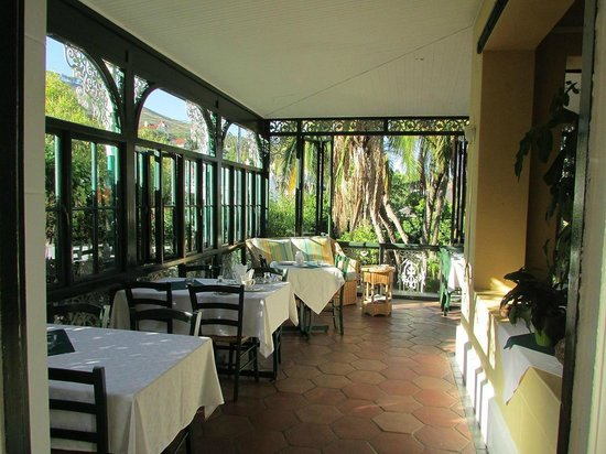 Mediterranean Villa Bed and Breakfast : Frühstücksbereich