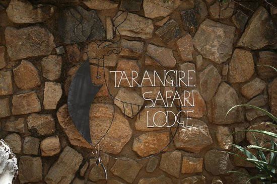 Tarangire Safari Lodge: The lodge entrance