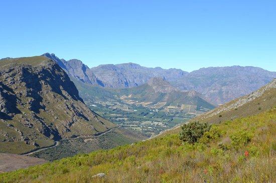 Franschhoek, Republika Południowej Afryki: View from Vista trail