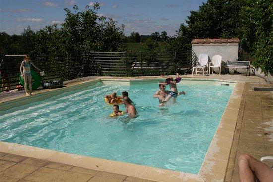 Le Petit Mas d'Ile: Our pool